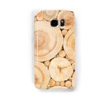 Wooden surface with annual rings Samsung Galaxy Case/Skin