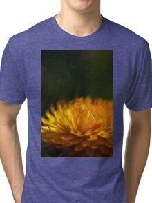 yellow calendula (3) Tri-blend T-Shirt