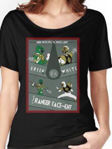 Green VS White Women's Relaxed Fit T-Shirt