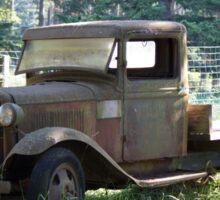 Old fashioned truck Sticker