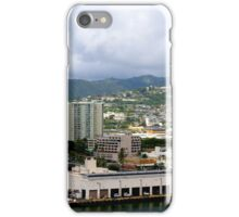 Honolulu Harbor at Work iPhone Case/Skin