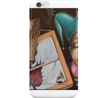 The Joker Posed as The Blue Moon but Ended up as The Fool iPhone Case/Skin