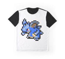 Pokemon 8-Bit Pixel Nidoqueen 031 Graphic T-Shirt