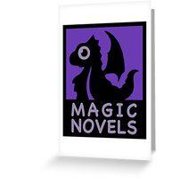 Magic Novels Greeting Card