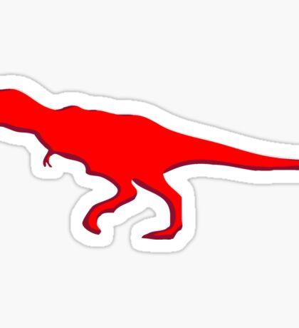 Dinosaur T-Rex Tyrannosaurus Rex button Sticker