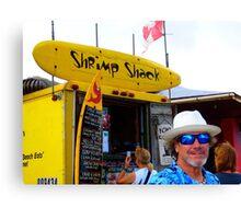 North Shore Famous Shrimp Shack Canvas Print