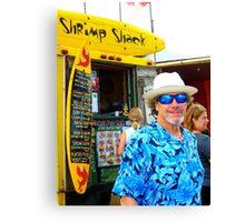 Shrimp Shack North Shore Canvas Print