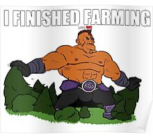 finished farming Poster