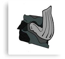 Warframe - Mordred Helm Canvas Print