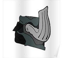 Warframe - Mordred Helm Poster