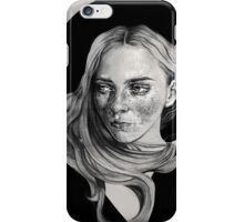 GIRL WITH HAT iPhone Case/Skin