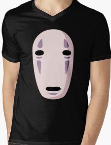 No face Mens V-Neck T-Shirt