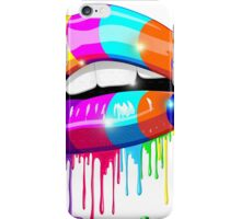 Psychedelic Lips iPhone Case/Skin