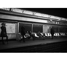 Franklin Roosevelt Metro Photographic Print
