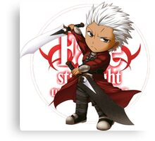 Archer from Fate Stay night Canvas Print
