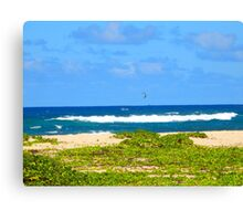 Gliding over the Surf — North Shore Canvas Print