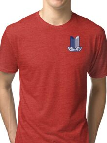 Blue Triumph Logo Tri-blend T-Shirt