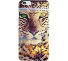 ZEN LEOPARD AND THE BEAUTIFUL EARTH iPhone Case/Skin