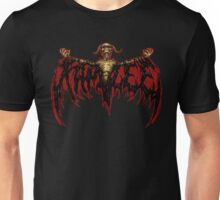 KAM LEE logo - DEMON FLAME RED version Unisex T-Shirt