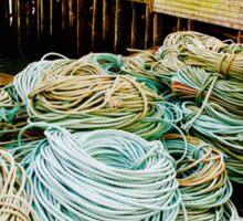 Fishing Rope Sticker