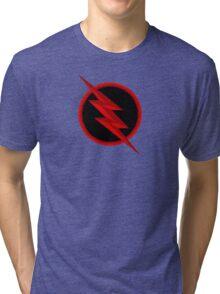 The Flash: Reverse Flash  Tri-blend T-Shirt