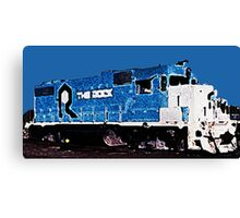 The Rock Train Canvas Print