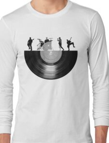 Vinyl music art Long Sleeve T-Shirt