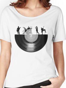 Vinyl music art Women's Relaxed Fit T-Shirt