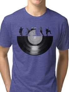 Vinyl music art Tri-blend T-Shirt