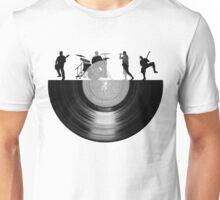 Vinyl music art Unisex T-Shirt