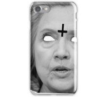 Hillary Clinton 666 Merch iPhone Case/Skin
