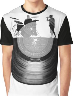 Vinyl music art Graphic T-Shirt