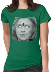 Hillary Clinton 666 Merch Womens Fitted T-Shirt