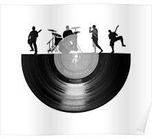 Vinyl music art Poster