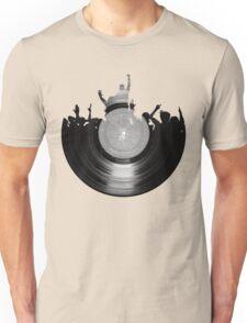 Vinyl music art 2 Unisex T-Shirt