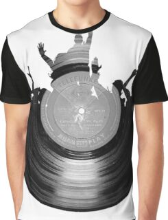 Vinyl music art 2 Graphic T-Shirt