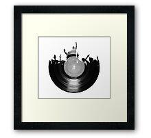 Vinyl music art 2 Framed Print