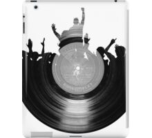 Vinyl music art 2 iPad Case/Skin