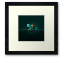 Monkey Jenius Framed Print