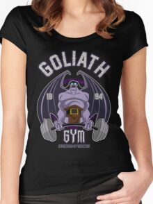 Goliath Gym Women's Fitted Scoop T-Shirt