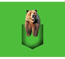 Pocket bear Photographic Print
