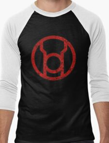 Lantern 1 - DC Spray Paint Men's Baseball ¾ T-Shirt