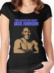 JACK JOHNSON (THE GALVESTON GIANT)-2 Women's Fitted Scoop T-Shirt