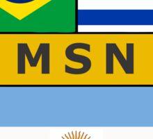 Messi, Suarez, Neymar Sticker