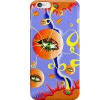 Fioloniceto V2 - abstract digital artwork iPhone Case/Skin