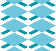 Pattern with diamonds Sticker