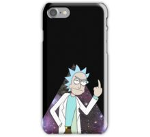 Rick and morty space 2 iPhone Case/Skin