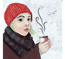 Hot Coffee Photographic Print