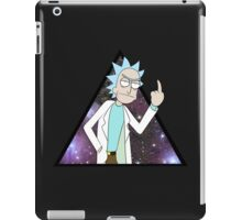 Rick and morty space 2 iPad Case/Skin