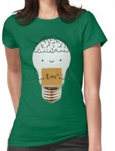 Cute light bulb Womens Fitted T-Shirt